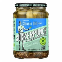 Suckerpunch Gourmet Pickles - Case of 6 - 24 FZ - Case of 6 - 24 FZ each