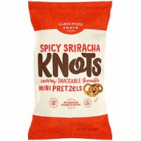 Carolwood Snack Spicy Sriracha Knots Mini Pretzles , 7oz (Pack of 12) - 12