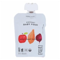 White Leaf Provisions - Baby Food Apple Sweet Potato Beet - Case of 6 - 3.2 OZ - Case of 6 - 3.2 OZ each
