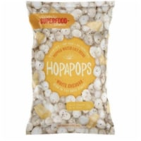 Hopapops Seed Lotus White Cheddar Gluten Free 2.3oz (Pack of 12) - 12