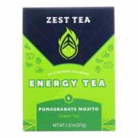 Zest Tea - Green Tea - Pomegranite Mojito - Case of 6 - 1.32 oz. - Case of 6 - 1.32 OZ each