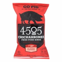 4505 - Pork Rinds - Chicharones - Chili - Salt - Case of 12 - 2.5 oz - Case of 12 - 2.5 OZ each