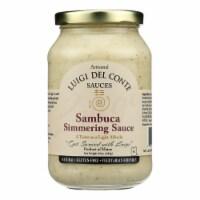 Luigi Del Conte Sauces Sambuca Simmering Sauce - Case of 6 - 15 OZ - Case of 6 - 15 OZ each