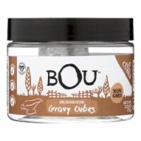 Bou - Gravy Cubes Mushroom 6 Ct - CS of 6-2.53 OZ - 2.53 OZ