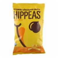Hippeas - Nacho Puff Chickpea - Case of 12 - 4 oz - 4 OZ