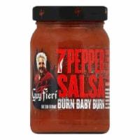 Guy Fieri 7 Pepper Salsa, 16 OZ (Pack of 6) - 6