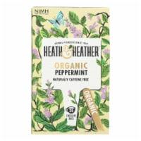 Heath & Heather - Tea Peppermint Herbal - Case of 6 - 20 CT - 20 CT