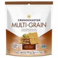 Crunchmaster Gluten Free Multi-Grain Sea Salt Cracker