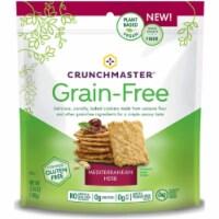 Crunchmaster Grain Free Crackers Mediterranean Herb Gluten Free, 3.4 oz (Pack of 12)