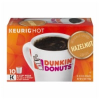 Dunkin' Donuts Hazelnut Flavored Ground Coffee K-Cup Pods