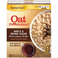 Better Oats Classic Maple and Brown Sugar Instant Oatmeal, 15.1 Ounce -- 6 per case