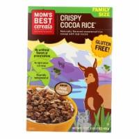 Moms Best Naturals Cereal - Crispy Cocoa Rice - 17.5 oz - case of 14 - 17.5 OZ