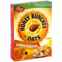 Kraft Honey Roasted Honey Bunches of Oat Cereal, 14.5 Ounce -- 12 per case. - 12-14.5 OUNCE