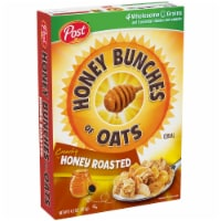 Ralston Foods Post Honey Bunches of Oats Cereal with Honey Roasted, 48 Ounce -- 4 per case. - 4-48 OUNCE