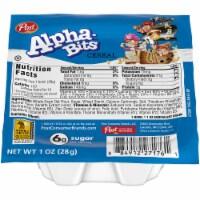 Post Alpha Bits Cereal, 1 Ounce -- 96 per case.