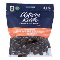 Artisan Kettle Chocolate Chips - Organic - Bittersweet - Case of 6 - 10 oz - Case of 6 - 10 OZ each