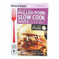 Red Fork Seasoning Sauce - Smoky Pulled Pork - Case of 6 - 8 oz.