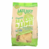 Late July Snacks Organic Tortilla Chips - Classic Rich - Case of 9 - 11 oz. - Case of 9 - 11 OZ each