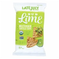 Late July Snacks Organic Multigrain Snack Chips - Sublime - Case of 12 - 5.5 oz. - Case of 12 - 5.5 OZ each