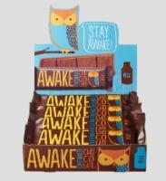 Awake, Caffeinated Milk Chocolate Bars, 1.55 oz. ( 12 count) - 12 Count