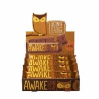 Awake, Caffeinated Milk Chocolate Caramel Bars, 1.55 oz. ( 12 count) - 12 Count