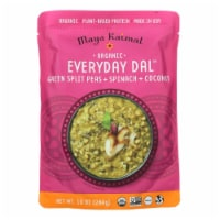 Maya Kaimal - Organic Everyday Dal - Green Split Pea Spinach Coconut - CS of 6 -10 OZ