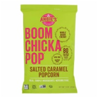 Angie's Kettle Corn Boomchickapop Salted Caramel Popcorn - Case of 12 - 6 oz.