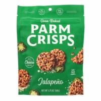 Kitchen Table Bakers Parm Crisps - Jalapeno Parmesan - Case of 12 - 1.75 oz.