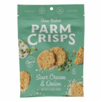 Parm Crisps - Parm Crisp Sr Cream & Onion - Case of 12 - 1.75 OZ - 1.75 OZ