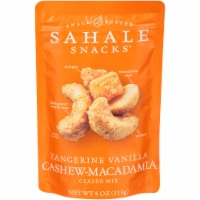 Sahale Tangerine Vanilla Cashew and Macadamia Nuts Glazed Mix, 4 Ounce -- 6 per case. - 5