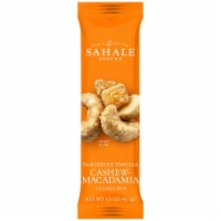 Sahale Tangerine Vanilla Cashew Macadamia Glazed Mix Snack, 1.5 Ounce -- 18 per case. - 18-1.5 OUNCE