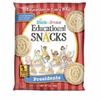 Dick and Jane President Educational Snack, 1 Ounce -- 120 per case. - 120-1 OUNCE
