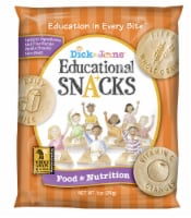 Dick and Jane Food and Nutrition Educational Snack, 1 Ounce -- 120 per case. - 120-1 OUNCE