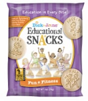 Dick and Jane Fun and Fitness Educational Snack, 1 Ounce -- 120 per case. - 120-1 OUNCE
