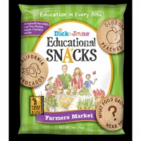 Dick and Jane Farmers Market Vanilla Educational Snacks, 1 Ounce -- 120 per case. - 120-1 OUNCE