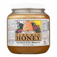 Bee Flower and Sun Honey - Wild Flower - Case of 6 - 5 lb. - Case of 6 - 5 LB each