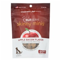 Fruitables - Dog Trts Chwy Applebacon - Case of 12 - 5 OZ