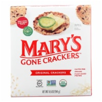 Mary's Gone Original Crackers  - Case of 6 - 6.5 OZ - Case of 6 - 6.5 OZ each