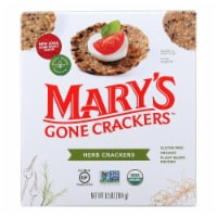 Mary's Gone Crackers Herb Crackers  - Case of 6 - 6.5 OZ - Case of 6 - 6.5 OZ each