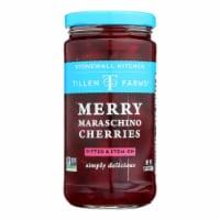 Tillen Farms - Cherries Maraschino - Case of 6-13.5 OZ - Case of 6 - 13.5 OZ each