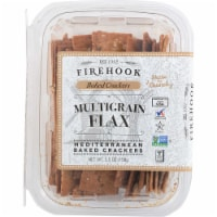 Firehook Baked Crackers Multigrain Mediterranean Baked Crackers, 5.5oz (Pack of 8) - 8