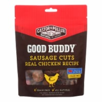 Castor and Pollux - Good Buddy Sausage Cuts - Real Chicken Recipe - Case of 6 - 5 oz. - 5 OZ