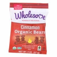 Wholesome! Candy - Organic - Cinnamon Bears - Case of 12 - 2 oz - 2 OZ