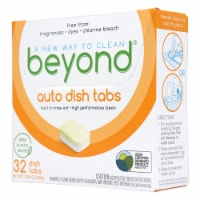 Beyond Natural Dishwasher Tablets - Fragrance & Dye Free - Case of 8 boxes - 1 Case of 8 boxes.