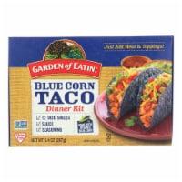 Garden of Eatin' Blue Corn Taco Dinner Kit - Blue Corn - Case of 12 - 9.4 oz. - 9.4 OZ