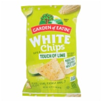 Garden of Eatin' Tortilla Chips - White Corn Chips With Lime - Case of 12 - 16 oz. - 16 OZ