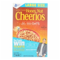 General Mills - Cereal Cheerios Honey Nut - Case of 10-15.4 oz - Case of 10 - 15.4 OZ each