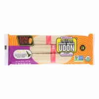 Organic Planet Traditional Whole Wheat Udon Oriental Noodles - Case of 12 - 8 oz. - 8 OZ
