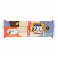 Organic Planet Traditional Whole Wheat Lomein Oriental Noodles - Case of 12 - 8 oz. - 8 OZ