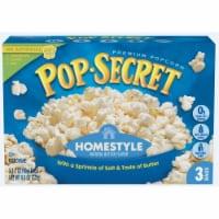 Pop Secret Homestyle Natural Butter Popcorn - 3 ct / 3.2 oz
